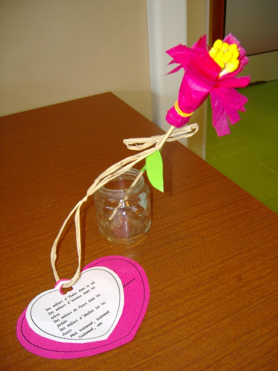 Fleur pour les mamans