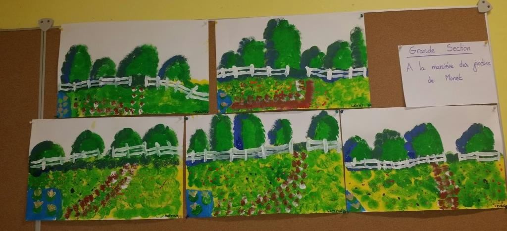 Les jardins de Monet vus par les Grands