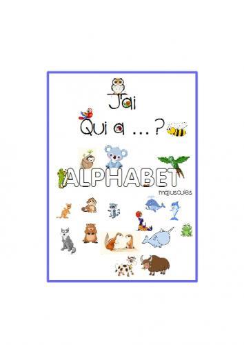 Capture d'écran pour J'ai ... qui a ? les lettres de l'alphabet