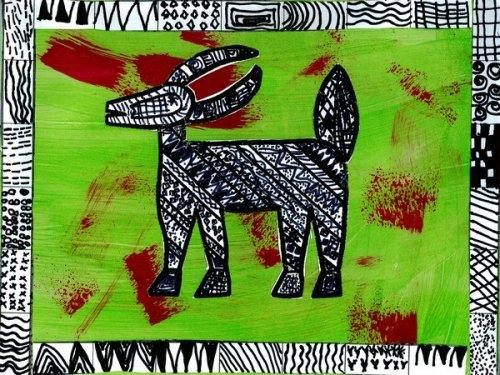 Animaux senoufo arts visuels forums enseignants du - Motifs africains maternelle ...