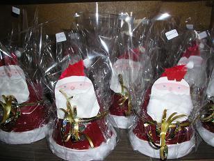 Père Noël - Pot terre cuite.JPG