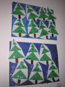 Sapin triangles