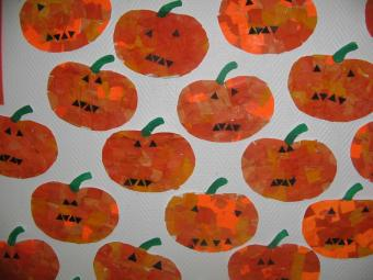 nos citrouilles d'Halloween