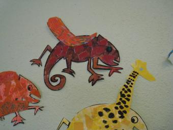 Le renard et la girafe