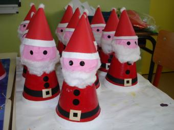 nos Pères Noel (triple niveau maternelle)
