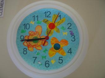 décoration horloge