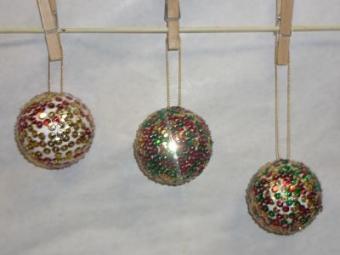 Boules à facettes ^^