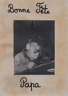 Carte cadre inspiration Robert Doisneau
