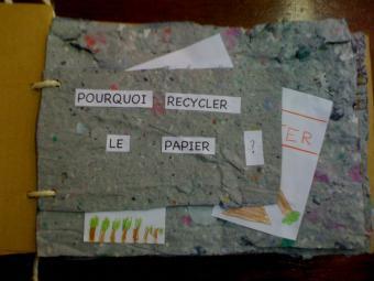 """""""pourquoi recycler le papier ?"""""""