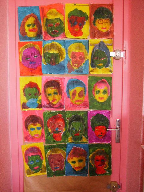 à la manière de Warhol