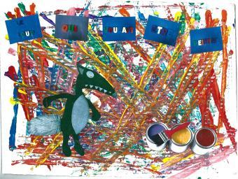 Création d'un album : Le Loup qui voulait être peintre