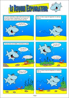 Le requin explorateur - PAGE 1