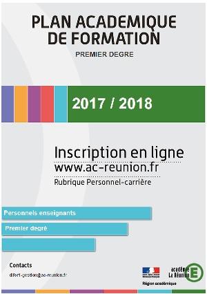 Académie de la Réunion : campagne d'inscription aux formations