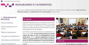 Conférence de consensus sur le redoublement (2015)