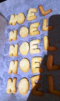 Les sablés de NOEL