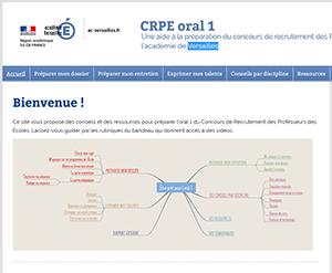 Versailles : aide à la préparation du CRPE