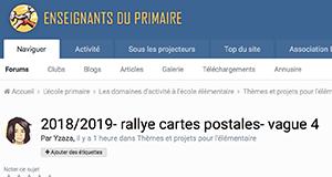 2018/2019- rallye cartes postales- vague 4 - Il nous manque la Corse et Martinique/Guyane/Saint Pierre et Miquelon/Mayotte