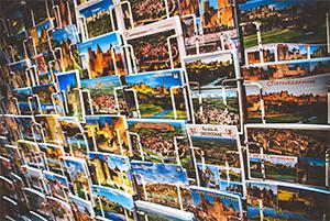 Projet cartes postales des régions