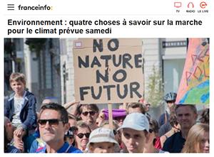 La marche pour l'écologie : aujourd'hui