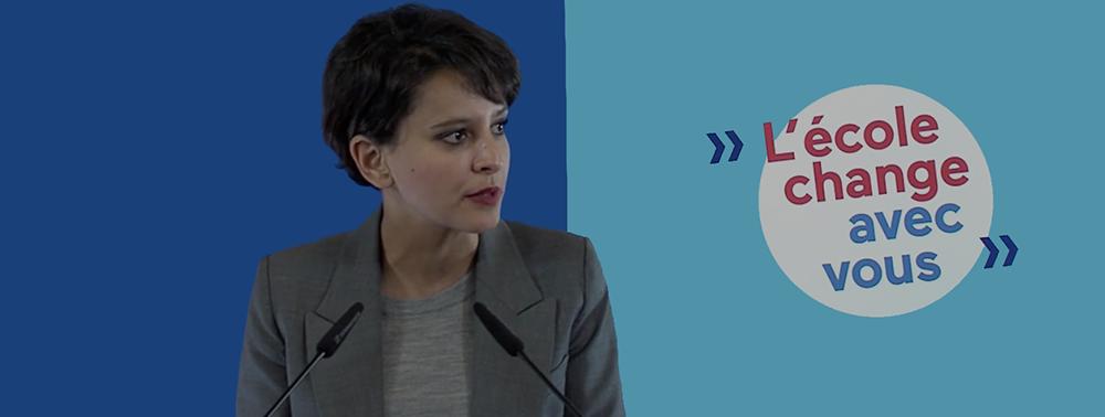 Conférence de presse sur la réforme de l'allocations des moyens