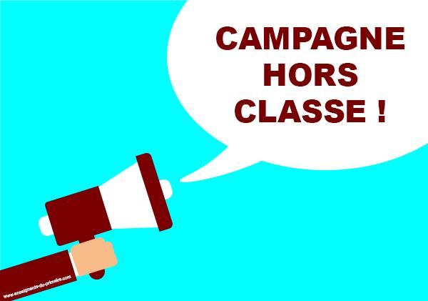 Campagne hors classe 2019 ouverte