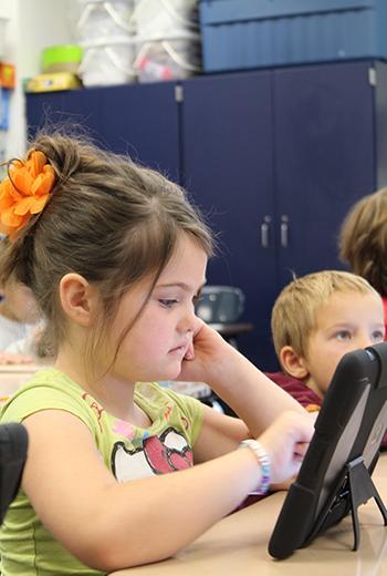 Utilisation de la tablette numérique pour enseigner en classe de CP