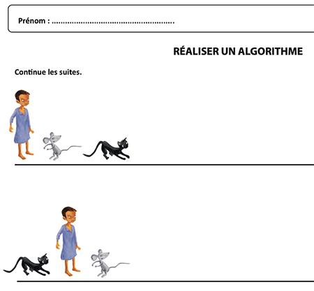 Réaliser un algorithme
